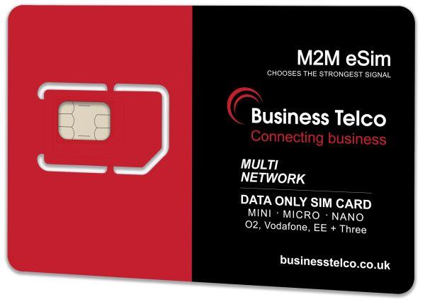 M2M eSIM Multi Network Card